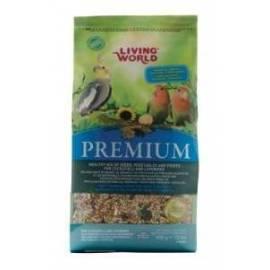 Living World Premium Carolinas y Agapornis