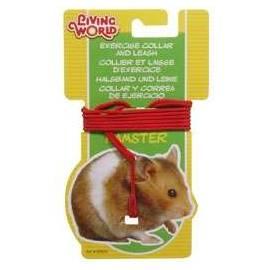 Living World Collar y Correa Hamster