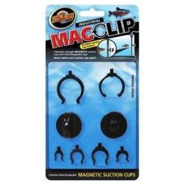 Zoomed Ventosa Magnetica con Clips Magclip