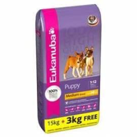 Eukanuba Puppy Junior Medium 15+3kg