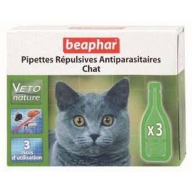 Beaphar Pipetas Repulsivas Antiparasitarias Gato