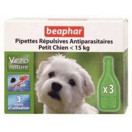 Beaphar Pipetas Repulsivas Antiparasitarias Perro(hasta 15kg.)