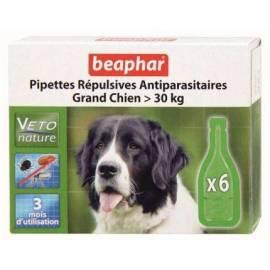Beaphar Pipetas Repulsivas Antiparasitarias Perro(más de 30kg)